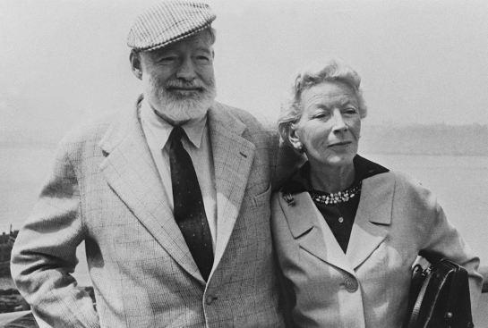 Hemingway y Mary Welsh