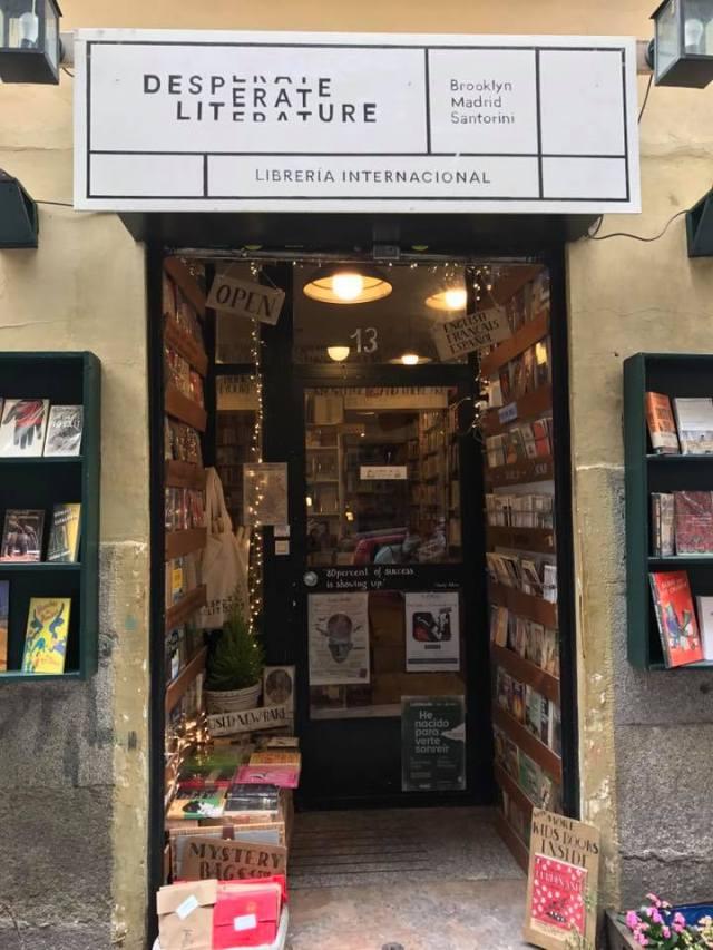 Librería Desperate Literature, Madrid. 1