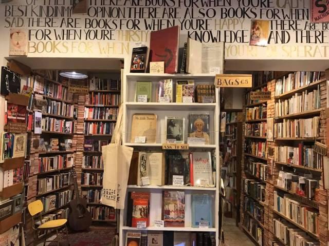 Librería Desperate Literature, Madrid. 2
