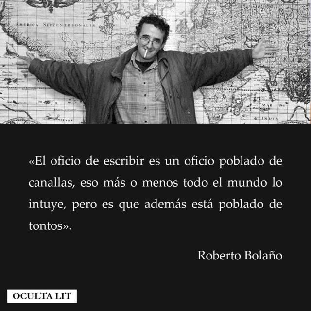 Bolaño. El oficio de escribir