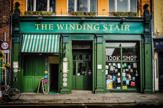 El Winding Stair Bookshop es una de las librerías independientes más antiguas que sobreviven en Dublín.