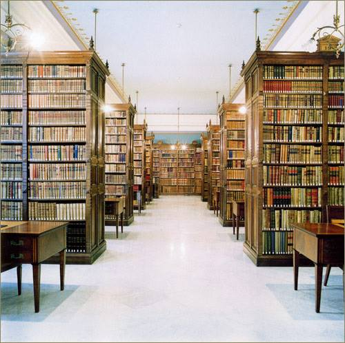 Biblioteca de la Real Academia de la Lengua, Madrid