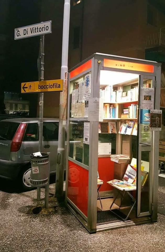 Biblioteca 24 horas. Italia