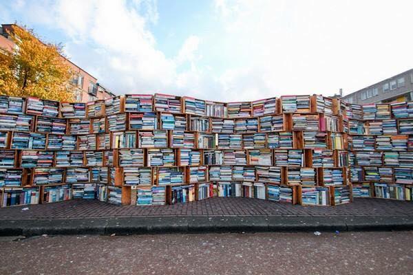 Biblioteca al aire libre, Leiden, Holanda