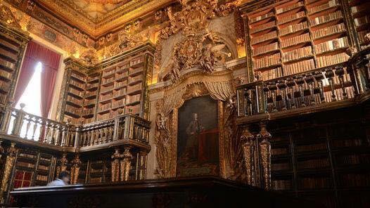 Biblioteca de Coimbra, Portugal