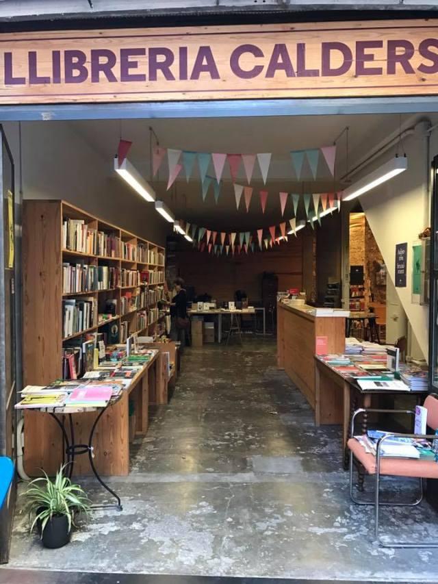 Librería La Calders, Barcelona. 4