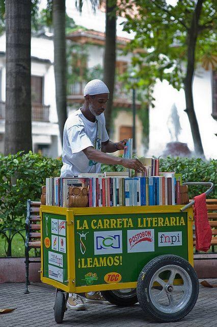 La carreta literaria. Cartagena, Colombia
