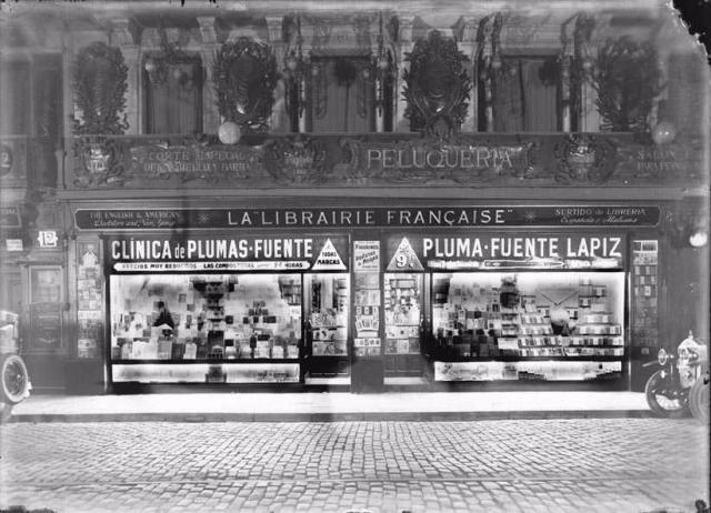 La legendaria librería francesa de las Ramblas de Barcelona.