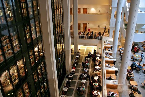 Biblioteca Británica. Londres