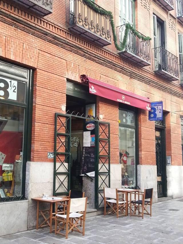Librería 8 y 1:2. Madrid