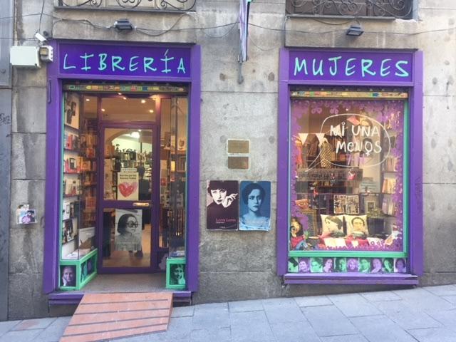 Librería Mujeres 1. Madrid