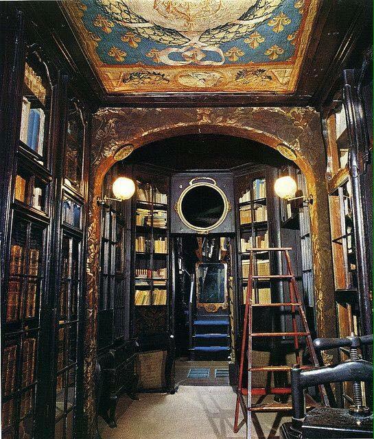 Antigua biblioteca de Víctor Hugo