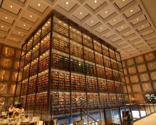 Biblioteca Beinecke de Manuscritos y Libros Raros (Universidad de Yale)