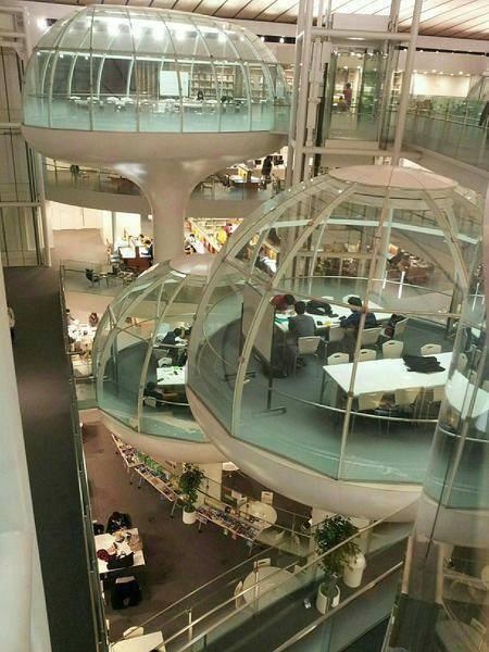 Biblioteca de la Universidad de Seikei (Japón)