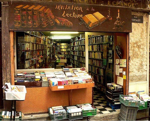 librería Invitation a la lectura, en Hyéres, Francia