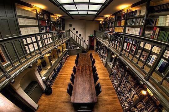 Biblioteca de la Universidad de Utrecht, Países Bajos