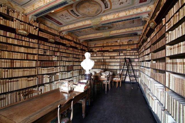Biblioteca privada de Leopardi Recanati