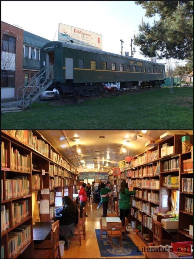 Bibliotren (Pudahuel, Chile)