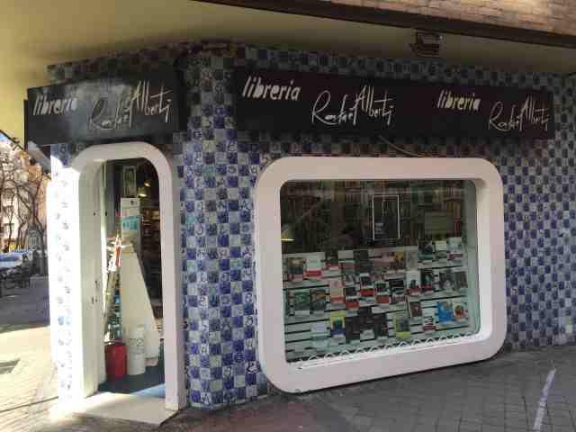 Librería Rafael Alberti. Madrid 2