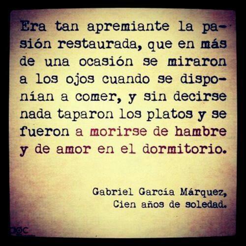 Texto de García Márquez