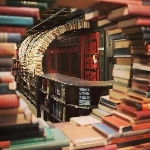 Librería 'The Last Bookstore', en Los Ángeles, California