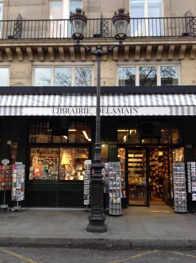Librería Delamain, la librería más antigua de París. 1