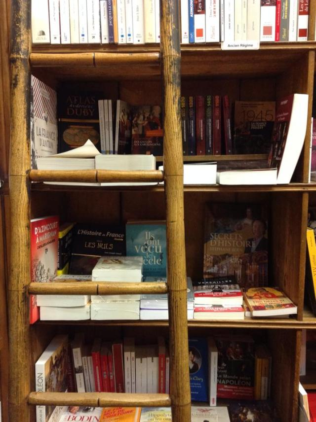 Librería Delamain, la librería más antigua de París. 4