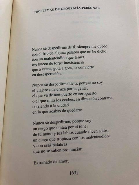 Texto de García Montero