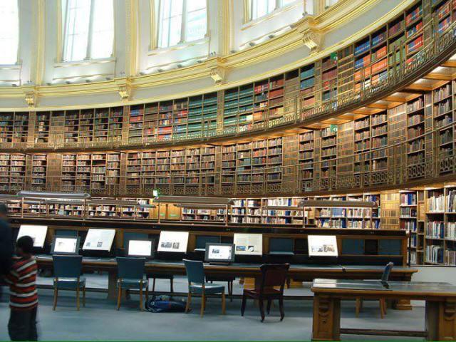 Biblioteca del Museo Británico (Londres)