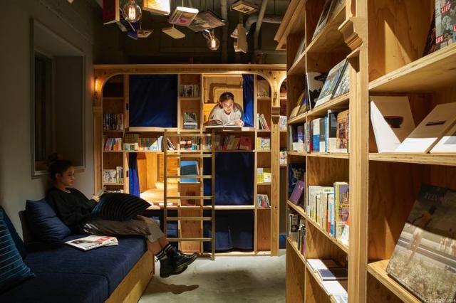 Hostal librería de Kyoto 2