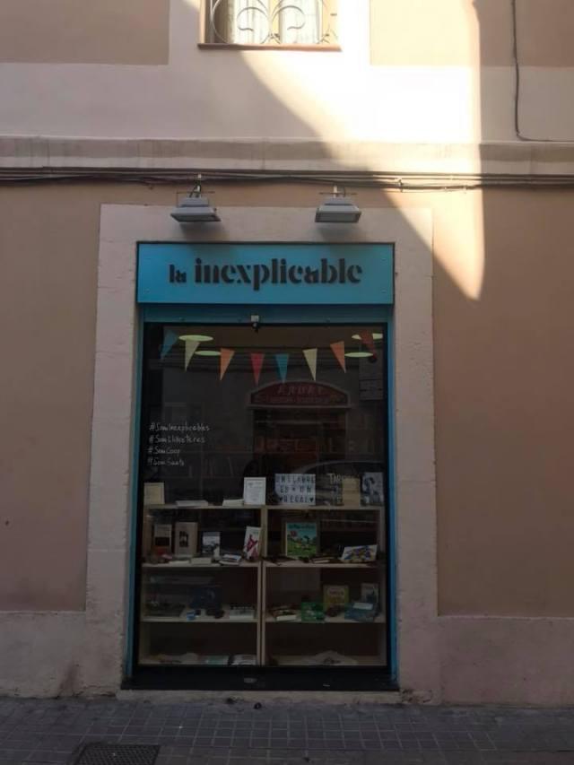 La Inexplicable, nueva librería de Sants, Barcelona.1