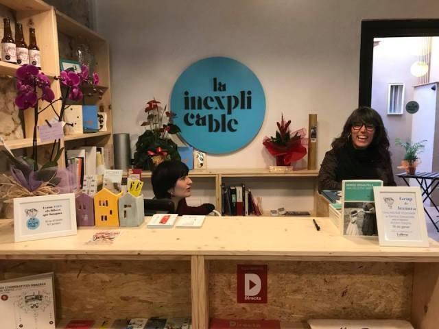 La Inexplicable, nueva librería de Sants, Barcelona.2