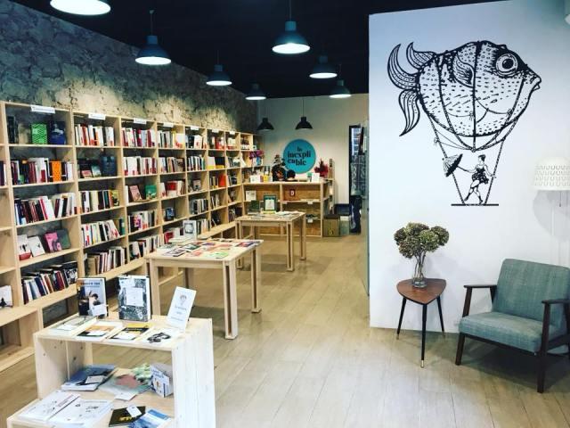 La Inexplicable, nueva librería de Sants, Barcelona.3