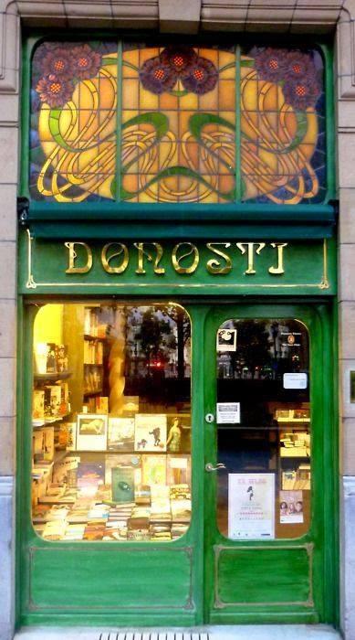 librería Donosti, en San Sebastián, España.