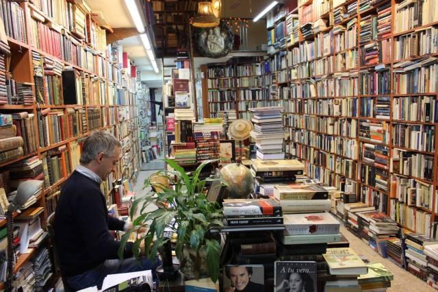 Librería Abadía, en Málaga, España.
