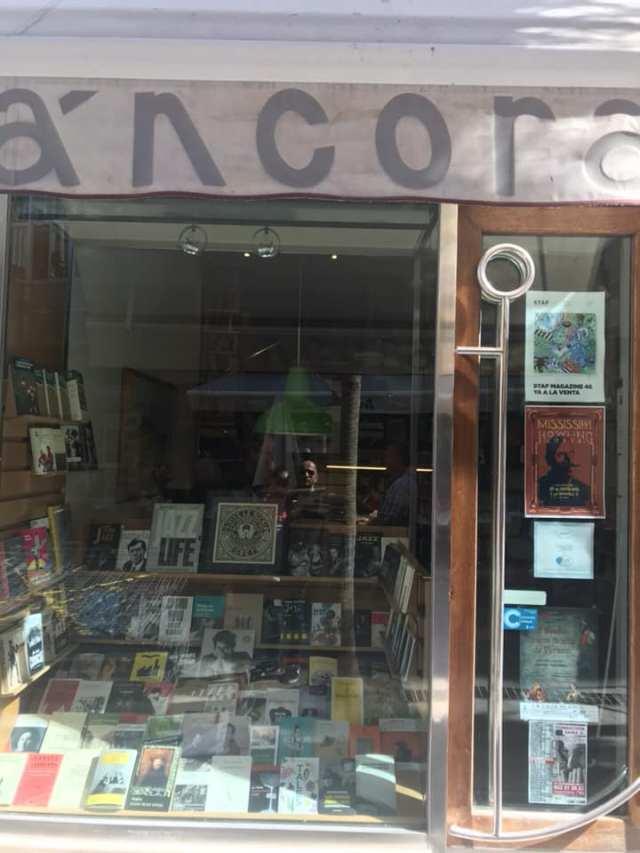 Librería Áncora, Málaga.1