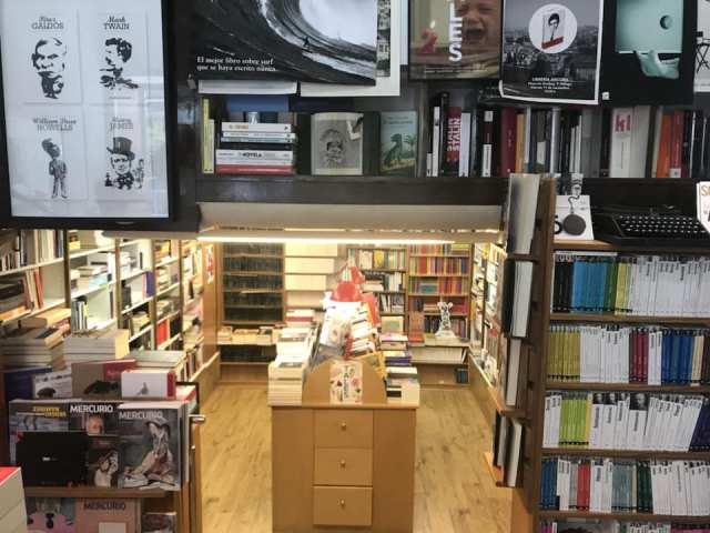 Librería Áncora, Málaga.3