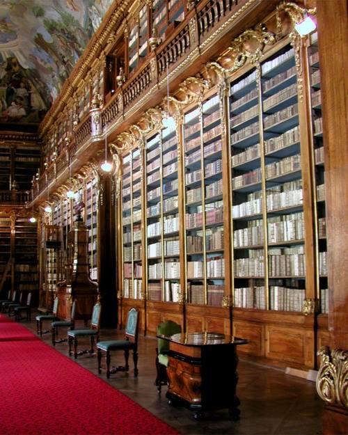 The Philosophical Hall, Strahov Monastery Library, en Praga