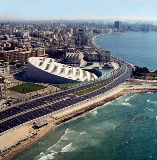 Biblioteca de Alejandría, Egipto