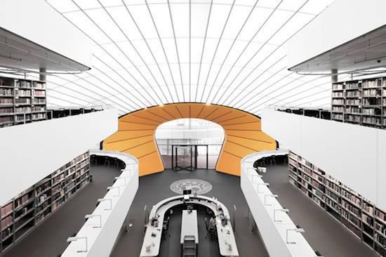 Biblioteca de Filología de Berlín, Alemania