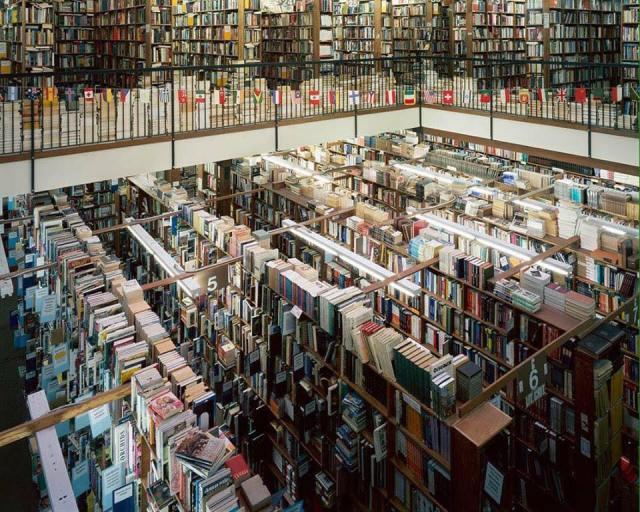 Librería situada en Oregon