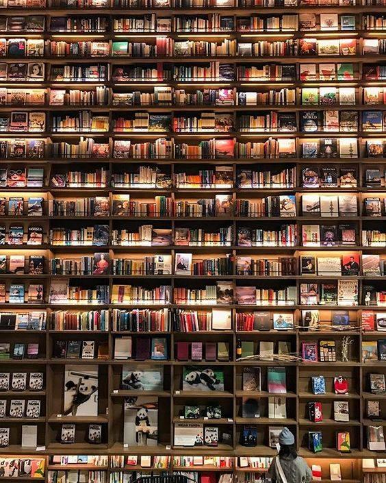 La librería Hirakata T-Site en Osaka